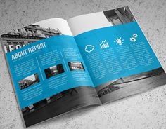 """Check out this @Behance project: """"Annual Report Template"""" https://www.behance.net/gallery/11720383/Annual-Report-Template"""