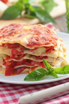 Easy Cheese Lasagna - Weight Watchers (6 Points)