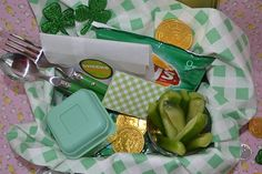 fun green lunch