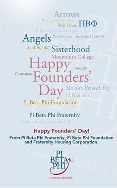 Pi Beta Phi Founders' Day! #piphi #pibetaphi