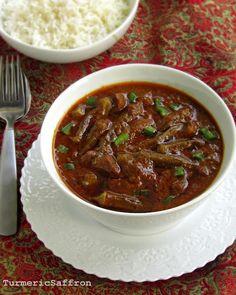 Persian Okra Stew