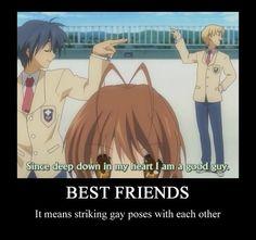 #Clannad #Bestfriends #GayPoses