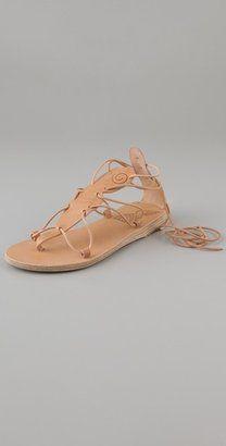 Ancient Greek Sandals Circe T Strap Flat Sandal.