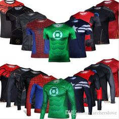 2016 Avengers Superhero Short Long Sleeve Black Adam Deadpool Batman T Shirt Sports Fitness Perspiration Fast Drying Cycling Accessories Bugatchi Shirts From Archerslove, $7.04| Dhgate.Com
