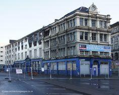 The burned out Cooperative Bldg, Glasgow Glasgow Architecture, Destruction, Scotland, Lost, Victorian, City, Building, Pictures, Photos