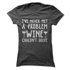Wine T Shirts, Hoodies, Sweatshirts. CHECK PRICE ==► https://www.sunfrog.com/Drinking/Wine-Tee-Ladies.html?41382