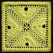 Ravelry: Bee Hives and Clover Afghan Block pattern by Joyce Lewis   >   Free Ravelry download