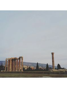 Temple of Olympian Zeus My Athens, Olympians, Temples, Seattle Skyline, Temple