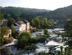 Llangollen, Wales... the whole place looks like a picture.. have to get back there!
