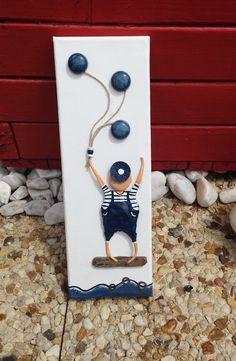 """""""L'enfant et les ballons"""" : Décoration pour enfants par les-toiles-de-mer-de-syl"""