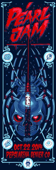 NYCHOS x PEARL JAM: GIG POSTERS NOW AVAILABLE