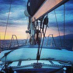 Giro delle Eolie in barca a vela....