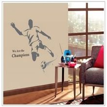 Wallstickers - Sort Champions