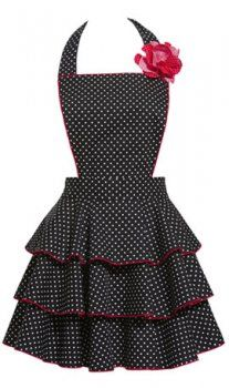 cute kitchen aprons cabinet on wheels 49 best images pinafore dress apron spice things up in and out of the with flirty carolyn s petite dot party saucy sweet this cotton has white or red top