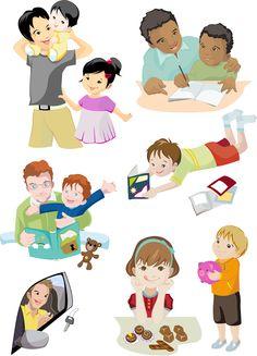 Ilustração dia dos Pais finalizada