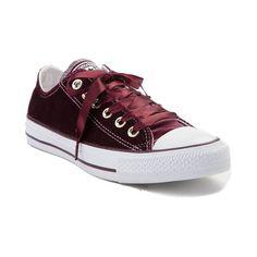 bdf05d8347 Converse Chuck Taylor All Star Lo Velvet Sneaker - Dark Sangria - 399511  Converse Style