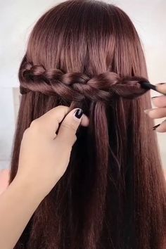 Here are hairstyles to improve on any style you might be considering. What is your favorite one? Easy Hairstyles For Long Hair, Girl Hairstyles, Stylish Hairstyles, Hair Care Tips, Hair Videos, Hair Looks, Hair Inspo, Girls Bedroom, Bedroom Ideas