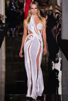 Versace Couture Spring 2015