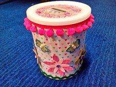 Mealheiro - reciclado a partir de uma lata