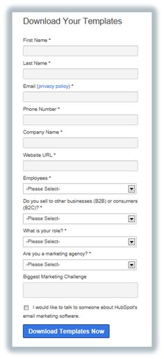 What You Can (and Should) Ask for on Your Landing Page Forms