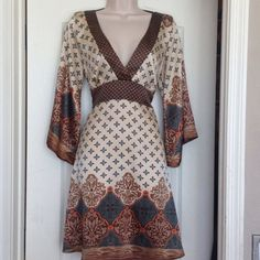"Selling this ""SILK DRESS, EYE CATCHING  PATTERN"" in my Poshmark closet! My username is: amyhair. #shopmycloset #poshmark #fashion #shopping #style #forsale #Forever 21 #Dresses & Skirts"