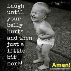 Laugh, laugh, laugh