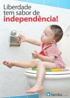 Familia.com.br | Como #treinar seu #filho para que deixe as #fraldas. #Criancas