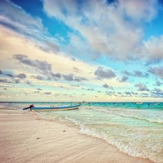 Playa Paraiso in Tulum, Mexico.