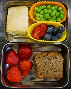 Bento for Baby: Bento for Baby 34:  Banana Bread and Zucchini and Rice Crostata