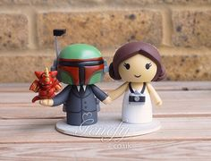 1000 Images About Cute Star Wars Wedding Cake Toppers By