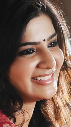 That million dollar smile. Samantha In Saree, Samantha Ruth, Samantha Images, Jennifer Winget Beyhadh, Actress Anushka, Cute Girl Poses, Lovely Smile, Tamil Actress Photos, Beautiful Indian Actress
