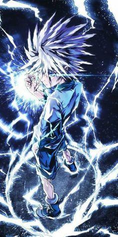 Killua Zoldyck - Hunter X Hunter Hunter X Hunter, Hunter Anime, Hunter Fans, Killua, Hisoka, Otaku Anime, Anime Naruto, Manga Anime, Naruto Uzumaki