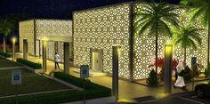 Islamic center in Arizona, Tucson. Design