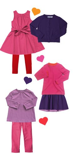 It's Valentine's Day - let's make outfits! Timeless kids styles in super soft fabrics, in all of their favorite colors. Get 20% off + FREE shipping w/code: PIN20PCT