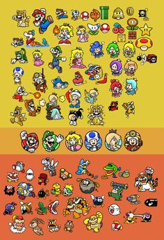 Mundo Super Mario, Super Mario 1985, Super Mario Games, Super Mario Art, Mario Kart, Mario And Luigi, Video Game Posters, Video Game Art, Donkey Kong
