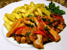 Pork Recipes, Healthy Recipes, Healthy Food, What To Cook, Kung Pao Chicken, Carrots, Food And Drink, Meat, Vegetables