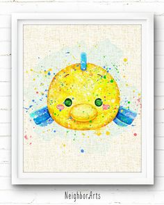 Ideas Baby Art Disney Home Decor Baymax, Watercolor Disney, Watercolor Paintings, Baby Wall Decor, Nursery Decor, Disney Wall Art, Pinturas Disney, Tsumtsum, Disney Home Decor