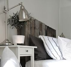 Awesome idea... Shipping Pallet Headboard for a DIY project