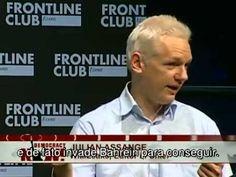 Julian Assange e Slavoj Zizek   Revelação de documentos secretos e a pri...