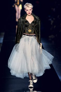 Punk cancan by Gaultier