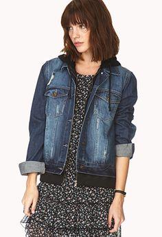 Forever Cool Distressed Denim Jacket | FOREVER21 - 2031558114 $40