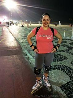 """Lia Caldas vem em várias versões. Essa é a versão """"patinadora"""". #liacaldas40 #fitness #fit #emagrecer #emagrecimento #vidasaudavel #healthylifestyle #weightloss #fatloss #healthyliving #wellness #bemestar #riodejaneiro"""