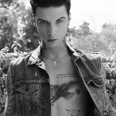 Let the eagle fly -- Andy Biersack
