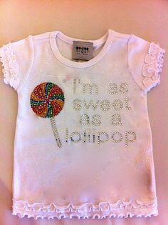 Sweet as a lollipop!