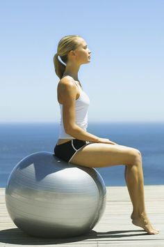 exercise ball could be your new best friend