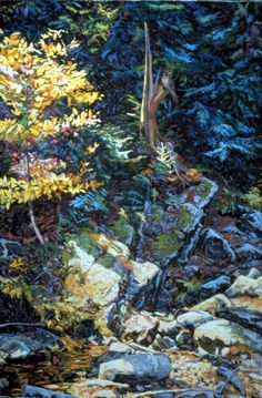 "George Harkins: ""Forest Cycle"" at Gail Severn Gallery"