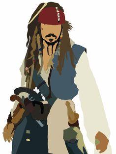 Piratas del Caribe en mareas misteriosas-Jack Sparrow