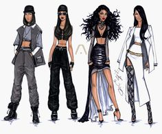 The Evolution of Aaliyah by Hayden Williams