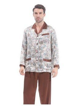 d8a62cc7ef5a Brand Autumn 100% Cotton Long Sleeve Couple Pajama Sets Masculine ...