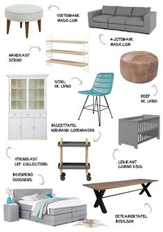 Meubel top 10 - Myhomeshopping #inspiration #furniture #chair #bed #storage #closet #couch #interior #table #myhomeshopping